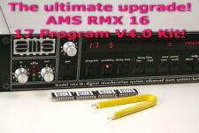 ☆ AMS Neve RMX16 Factory V4.0 17 Program OS Upgrade Kit! ☆