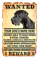 DOBERMAN Property Laws Magnet Personalized With Your Dog/'s Name