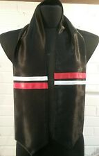 Elvis Presley black  Cossack scarf. see conference & eta scarves in our shop