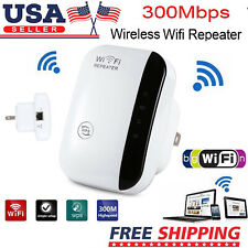 300Mbps 2.4GHz Wifi-Repeater,Wireless-N Range Extender&Signal Booster USA Plug