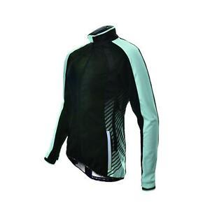 Cycling Jacket Funkier Tacona WJ-1324 Ladies Windstopper Black/Blue X-Small