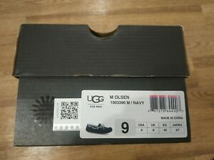 UGG Australia OLSEN SUEDE Slippers Men US9
