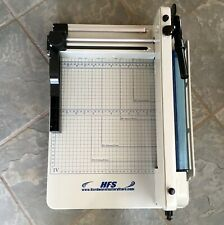 Hfs A4 Heavy Duty 12 Commercial Steel Guillotine Paper Cutter