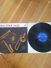 ALL STAR JAZZ LP SARA VAUGHAN DIZZY GILLESPIE RED NORVO CHARLIE PARKER