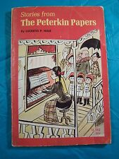 """RARE VINTAGE PAPERBACK """"STORIES FROM THE PETERKIN PAPERS"""" BY LUCRETIA P. HALE 3R"""