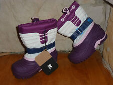 SOREL TODDLER WATERPROOF WINTER SNOW BOOTS & REMOVABLE LINING(RATED TO -40) SZ 6