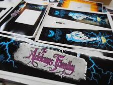 Addams Family Full Pinball Cabinet Decals