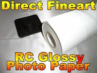 Premium RC Glossy Photo Paper Roll Inkjet canon hp epson picture 24 x 100 ft gse