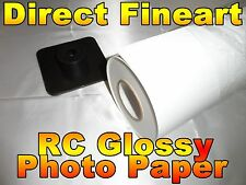 Premium RC Glossy Photo Paper Roll Inkjet canon hp epson picture 24 x 100 ft