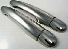 CHROME DOOR HANDLE COVERS RENAULT MEGANE 2002-2009 CC DCi TURBO GT RS Sport R26