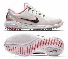 New Women'S Nike Lunar Control Vapor 2 Golf Shoes 909083-103 White Pink Sz 9.5