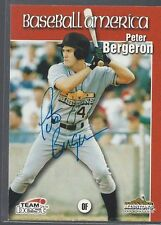 Montreal Expos PETER BERGERON Signed Card
