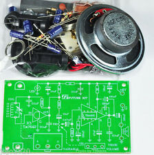 AM Radio Experiment Circuit Unassembed kit 6VDC [ Exclued the spekers ]