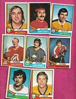 1974-75 OPC NHL PLAYERS  CARD LOT (INV# C2248)