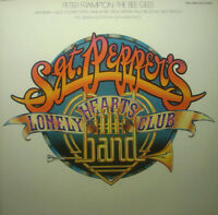 "12"" DLP Peter Frampton, The Bee Gees Sgt. Pepper Lonely Hearts Club Band"