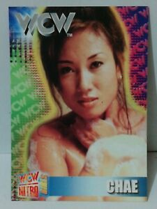 1999 CHAE Wrestling Trading Card PERU Edition WWF WWE WCW Nitro Gril