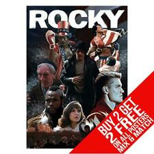 ROCKY DD1 POSTER ART PRINT A4 A3 SIZE - BUY 2 GET ANY 2 FREE