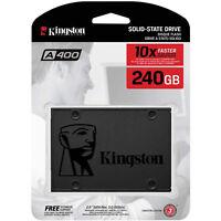 """Kingston 240GB SSD Interno 2.5"""" SATA III 240 GB 240 G GB A400 Solid State Drive"""