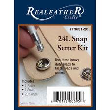 Realeather Crafts 24L Snap Setter Kit T3631-20