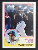 2015 Topps Archives #270 Nelson Cruz - NM-MT