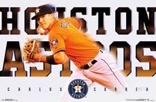 CARLOS CORREA - HOUSTON ASTROS POSTER - 22x34 MLB BASEBALL 15658