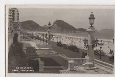 Brazil, Rio De Janeiro, Praia Copacabana RP Postcard, B199