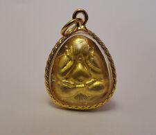 Buddha Talisman Nice Phra Pidta Maha Setti LP Koon Rich Wealth Luck Thai Amulet