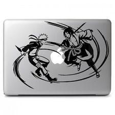 Naruto & Sasuke Grapple Sticker Decal for Macbook Air Pro Laptop Car Window Wall