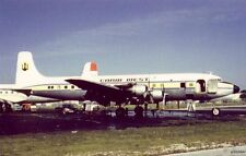 BILL THOMPSON PHOTO CARIB WEST AIRLINES DOUGLAS DC-6