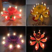Lotus Musik Geburtstagskerze Kuchenkerze Kerze Torten Geburtstag Leuchtend HS