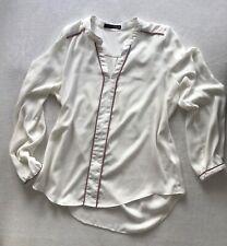 Atmosphere / Damen Freizeit  Bluse / Gr. 38 / creme weiß / langarm