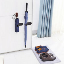 Kitchen Mounted Wall Hanger Mop Rack Brush Broom Organizer Holder Tool HP