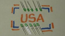 3mm - Green LED - 10pcs - Light Emitting Diode - 20ma - Ships Today!