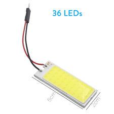 2X LED COB Dome Map Light Bulb Car Vehicle Interior Panel Reading Lamp 12V BA9S
