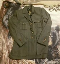 New listing Ralph Lauren Women Jacket Blazer 10 Herringbone Equestrian Wool Green Hunting