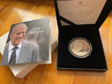UK 2021 Prince Philip Duke of Edinburgh £5 Piedfort  Silver Proof Coin Only 1750