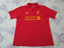 Warrior Liverpool football shirt size L red colour