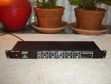 Ashly Sc-50, 80s Black Version, Peak Limiter Compressor, Vintage Rack