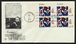 #1259 5c The Fine Arts-Plate Block, Art Craft FDC **ANY 5=FREE SHIPPING**