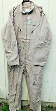 Flight Suit Tan Aramid Type 1 Class 2 CWU-27/P 48-Long NWT $69.98