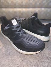 SZ 11 Mens Adidas Ultra Boost 2.0 Running Shoes Black Grey AQ4004 NMD 350 700