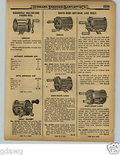 1929 PAPER AD 4 Brothers Eclipse South Bend Anti Back Lash Fishing Reel