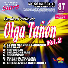 Karaoke Latin Stars 87 Olga Tañon Vol.2