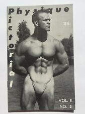 Summer 1958 Physique Pictorial Gay Men's Erotic Magazine