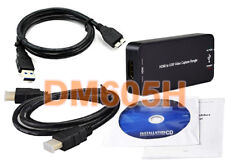 Premium External USB 3.0 USB 2.0 HDMI Video Capture DVR Adapter For PC