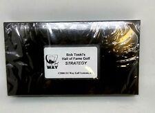 Vintage Bob Toski's Hall of Fame Golf Strategy 2000 VHS NOS still packaged