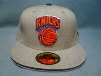 New Era 59fifty New York Knicks Heather Slice BRAND NEW Fitted cap hat NY NYC