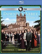 Masterpiece: Downton Abbey Season 4 Blu-ray (U.K. Edition) New DVD! Ships Fast!