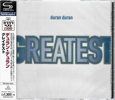 DURAN DURAN GREATEST 2018 JAPAN RMST SHM HIGH FIDELITY FORMAT CD  NEW/SEALED!