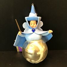 THE DISNEY STORE AN ENCHANTED CHRISTMAS FAIRY GODMOTHER ORNAMENT